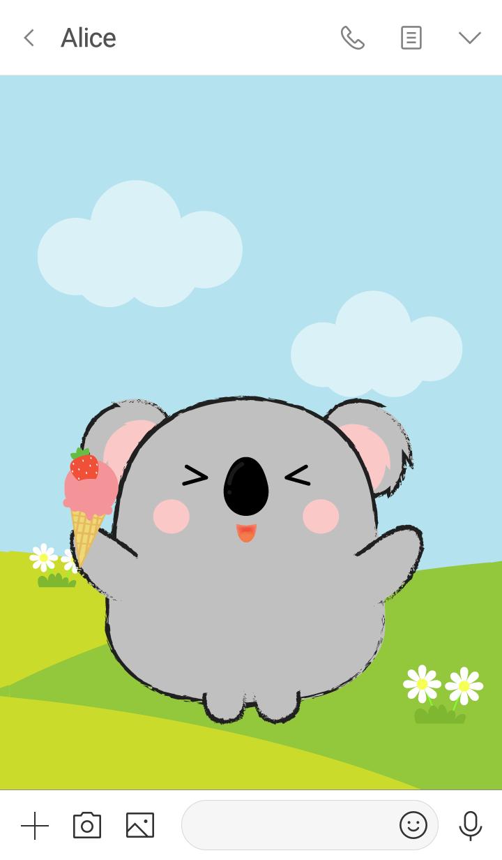 Pretty Fat Koala Theme