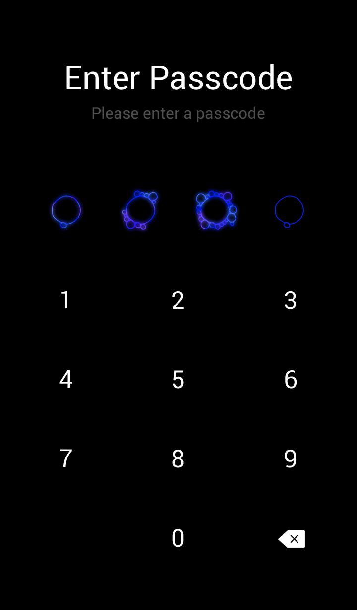 Cosmic Blue Bubbles