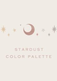 Stardust Color Pallet #Brown Beige .