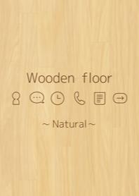 Wooden floor - Natural -