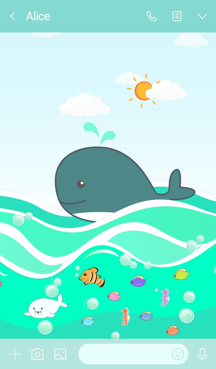 Big Whale (Emerald Sea)