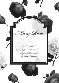 Mary Rose - White & Black