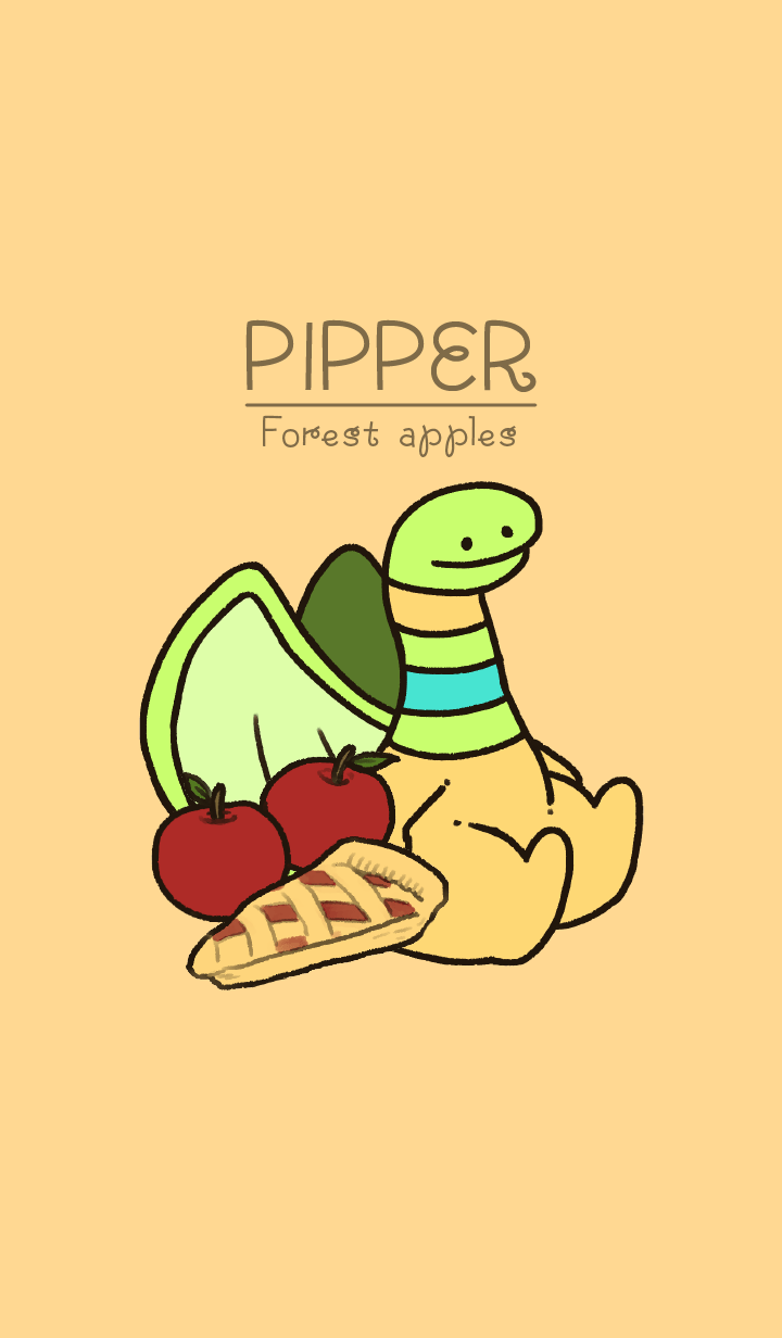Pipper and forest apples