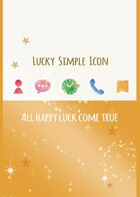 Orange / Lucky simple