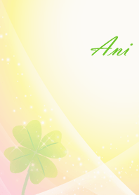 No.1594 Ani Lucky Clover name