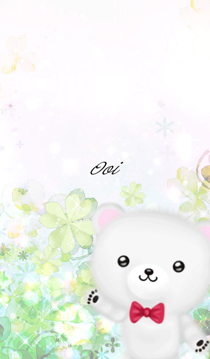 Ooi Polar bear Spring clover