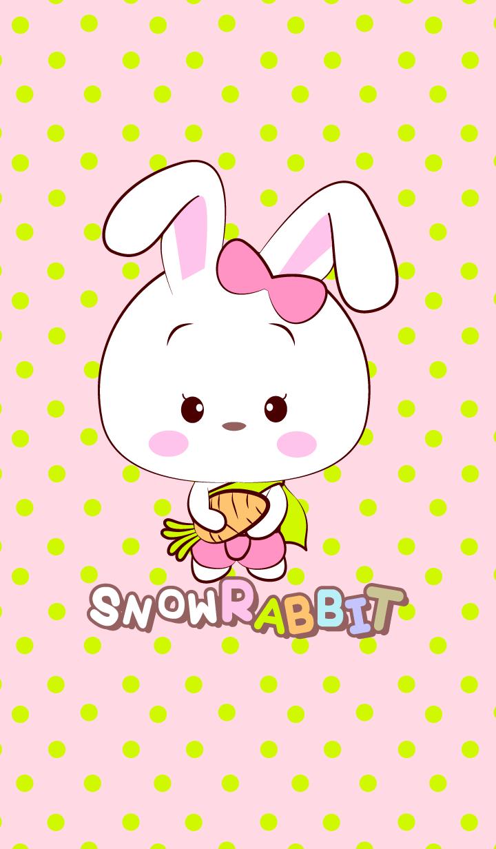 Cute Snow Rabbit