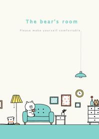 The bear's room.