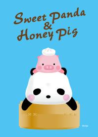 Ellya的甜甜貓熊&蜜蜜小豬 主題3