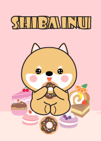 Sweet Shiba Inu Theme