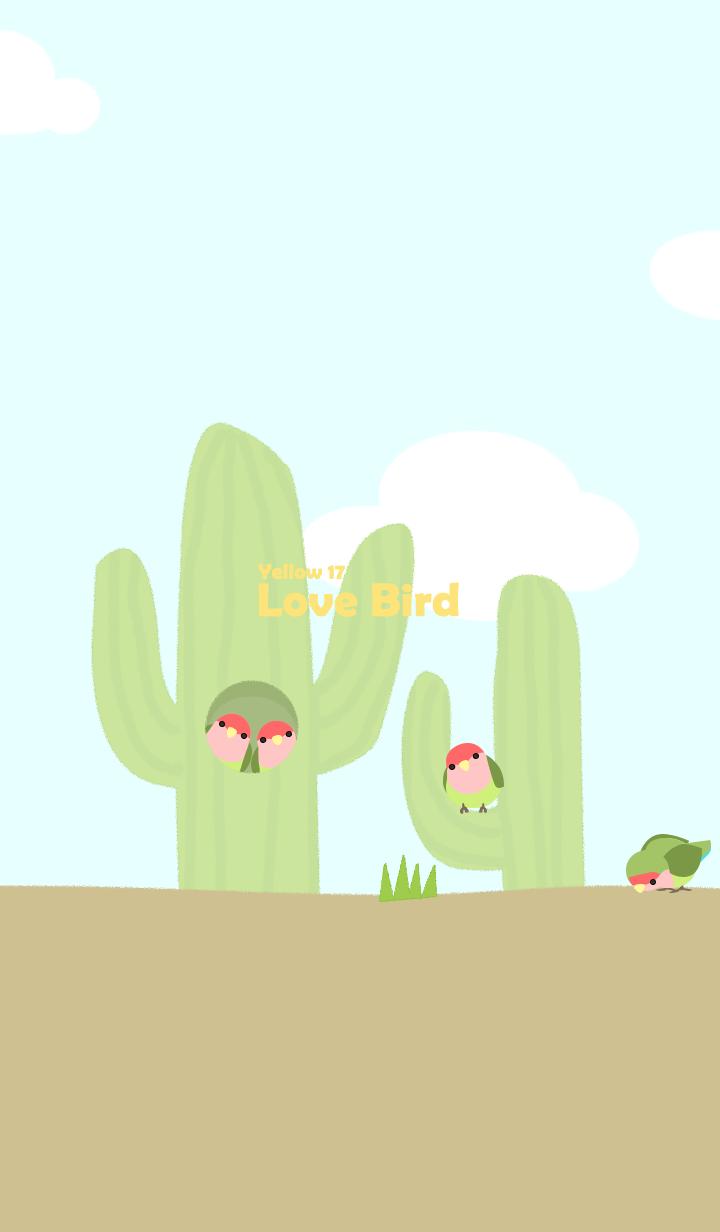 Lovebird/yellow17