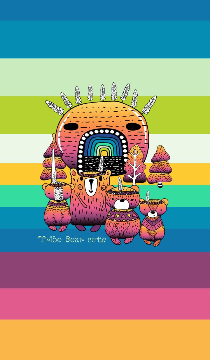 Tribe Bear Cute