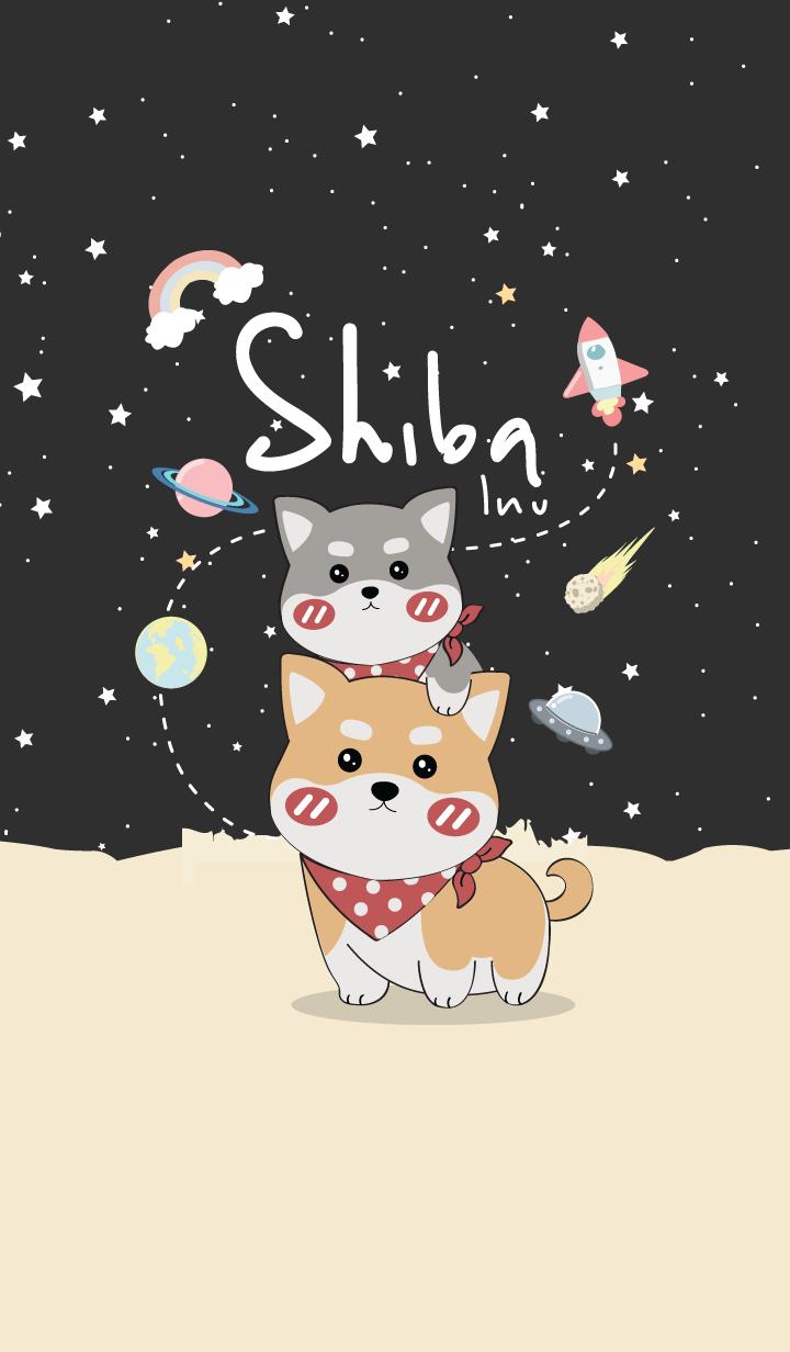 Shiba Inu noi.(Black Ver.)