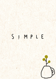 Calm adult simple and kraft paper