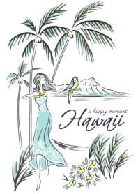 Hawaii -a happy moment-