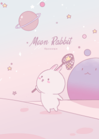 Moon Rabbit in Galaxy