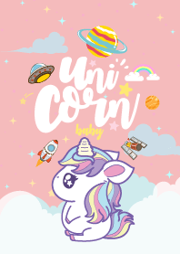 Unicorn Baby Fat Galaxy Love