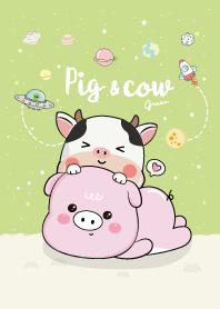 Pig & Cow Green