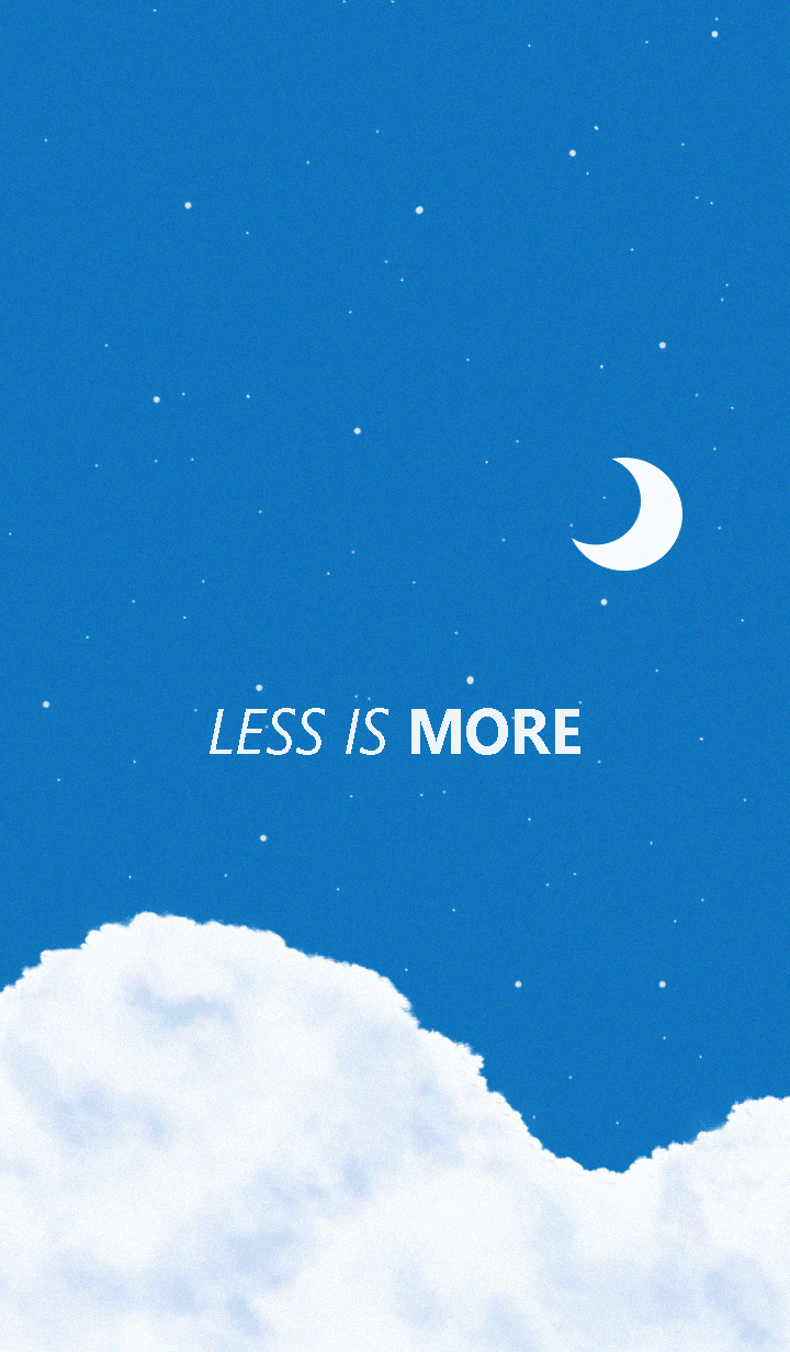 Less is more - #44 Your SKY