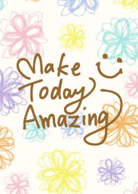 Watercolor floral smile-25-