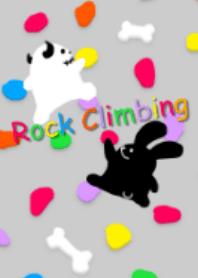 Rock climbing ~Rock rabbit and skull~