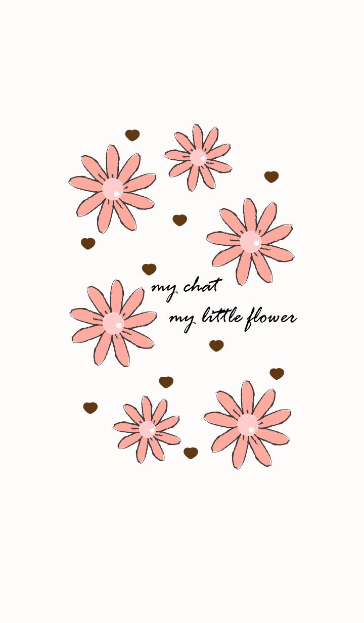 little flower in vintage style 24