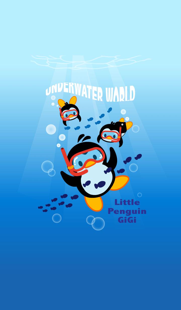 Little Penguin Gigi-Underwater World