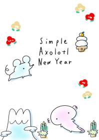 墨西哥钝口螈 新年