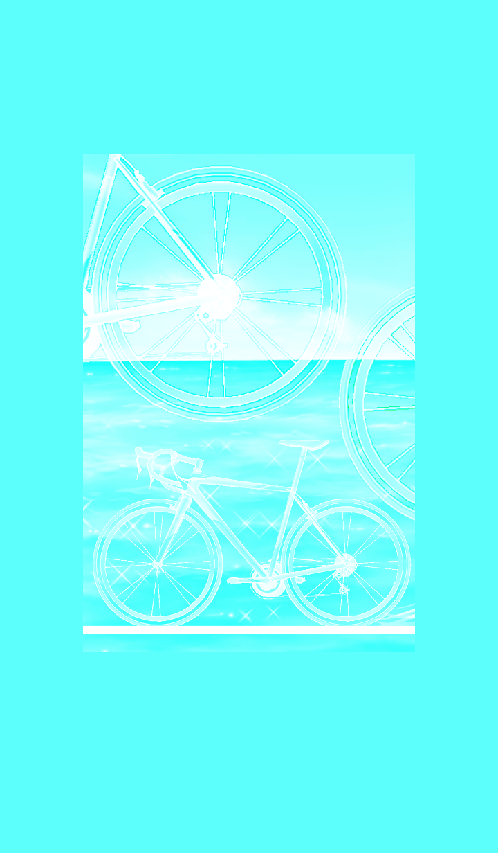 Island and the sea and cycling #cool