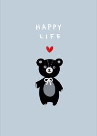 Cute black bear6.