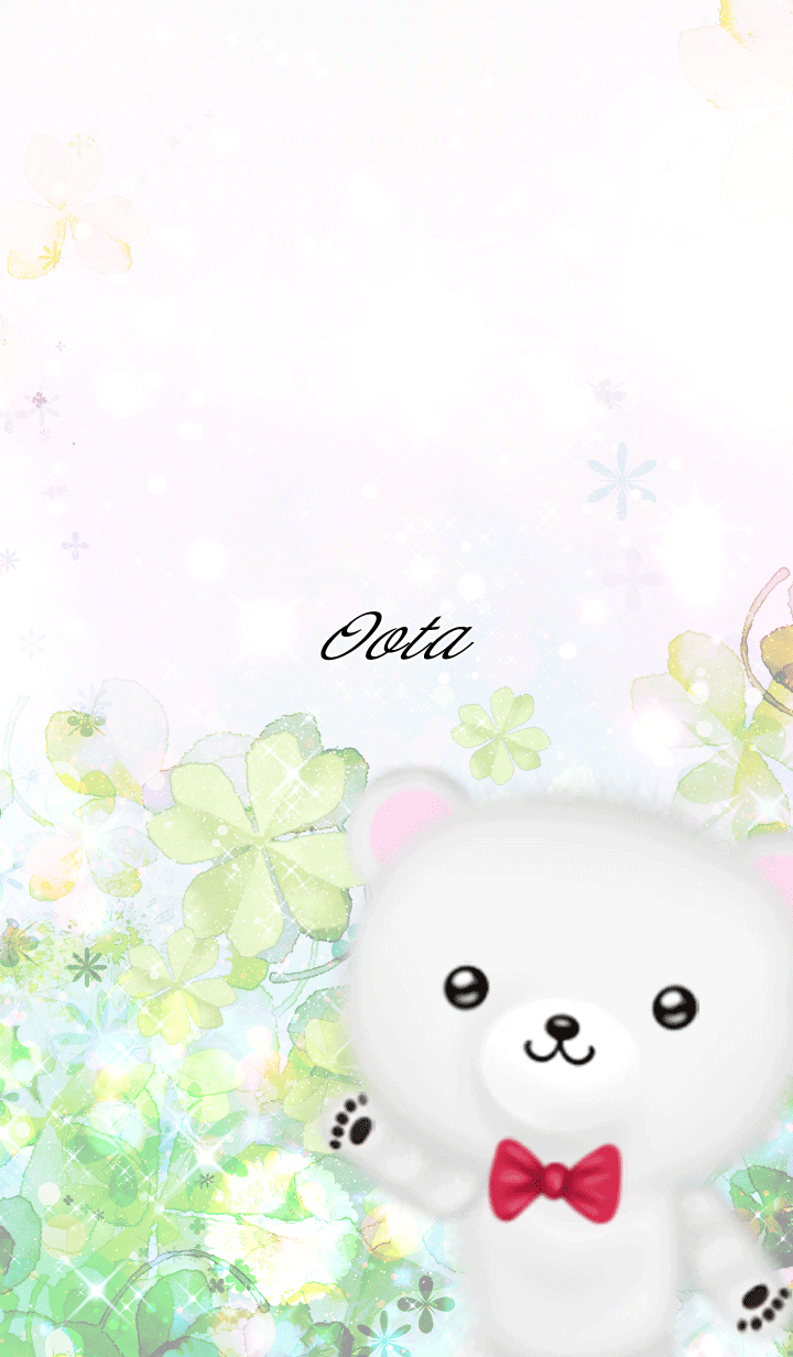 Oota Polar bear Spring clover