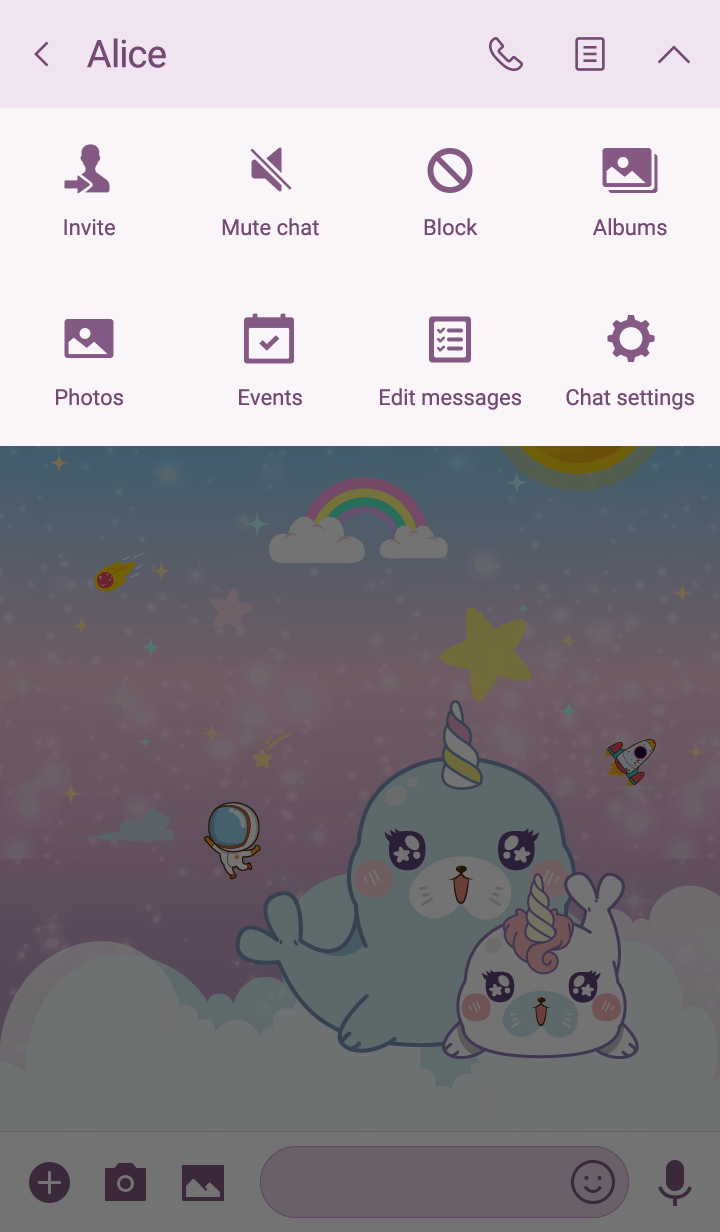 Seal Unicorn Galaxy Cute Rainbow