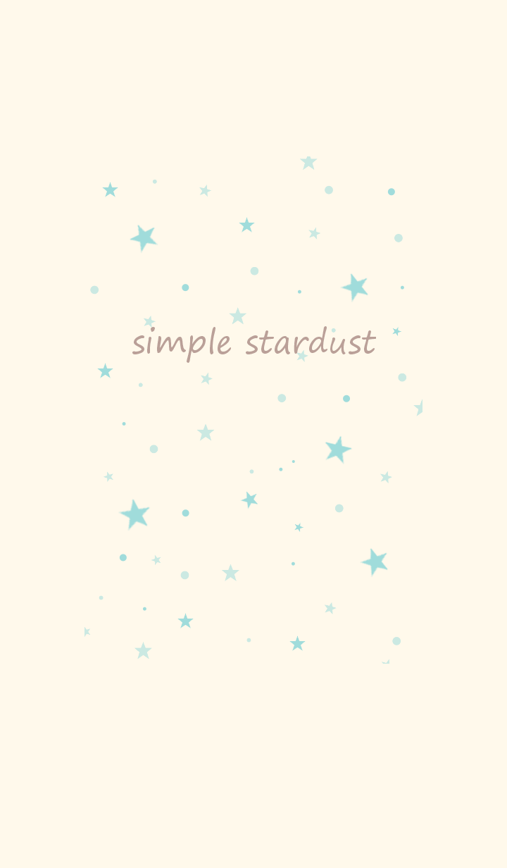 simple stardust *ivorygreen pink