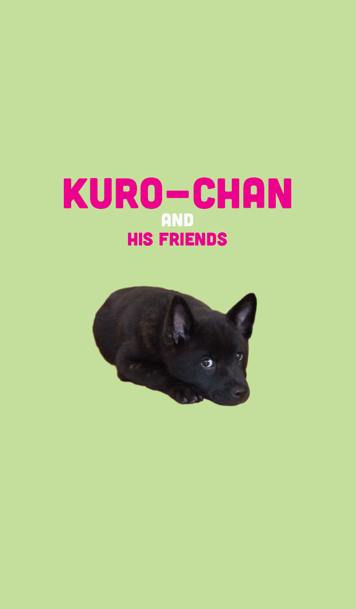 Kuro-chan and his friends