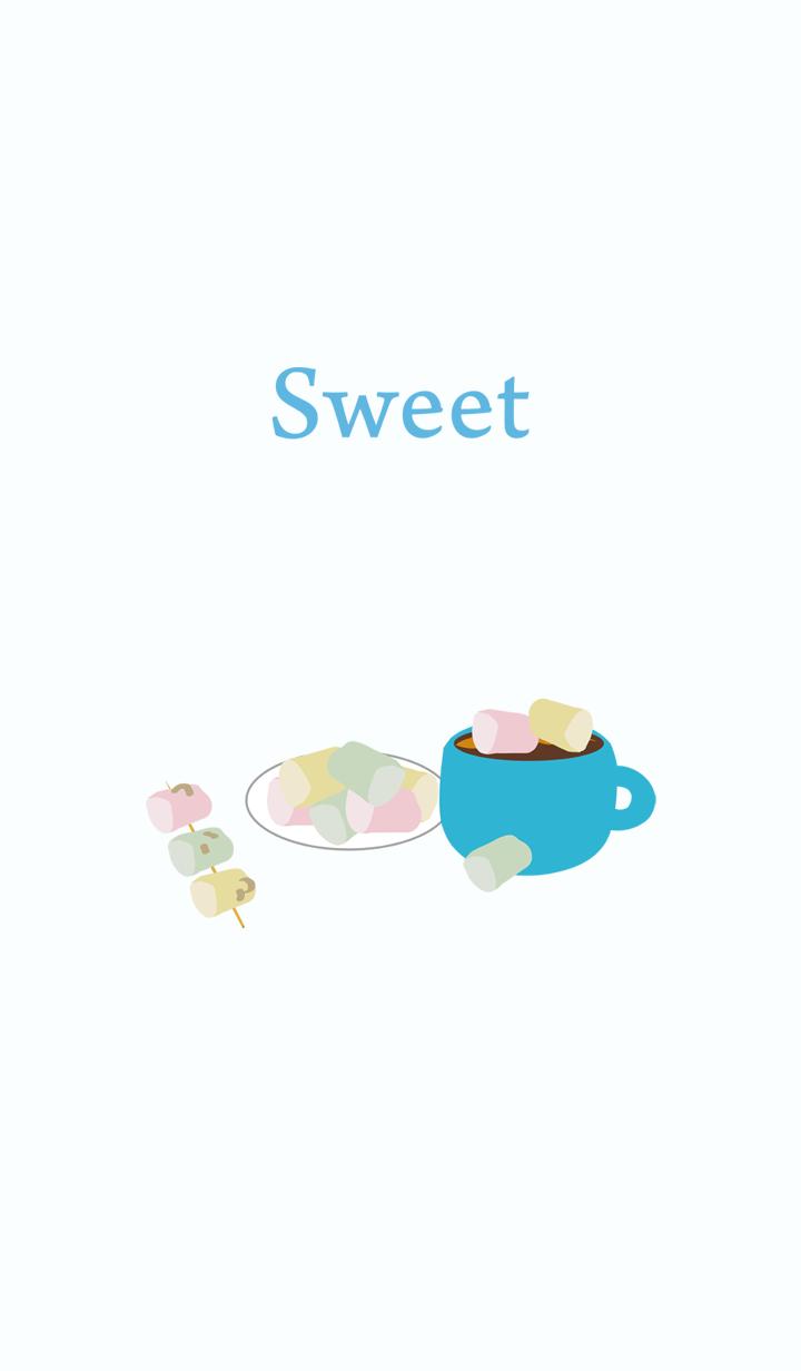 棉花糖-虚线