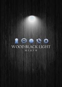 WOOD BLACK LIGHT -BLUE-
