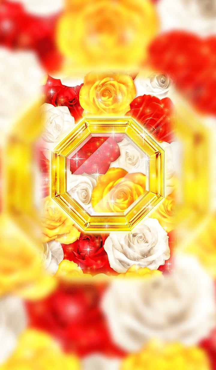 幸運を集める「ゴールドオクトの花風水」