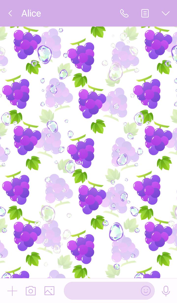 Grape soda -White-