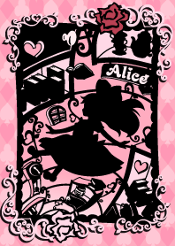Alice Silhouette [In Wonderland]Pink -