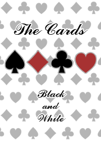 The cards(Black and White)