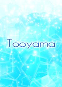 Tooyama Beautiful Blue sea Crystal