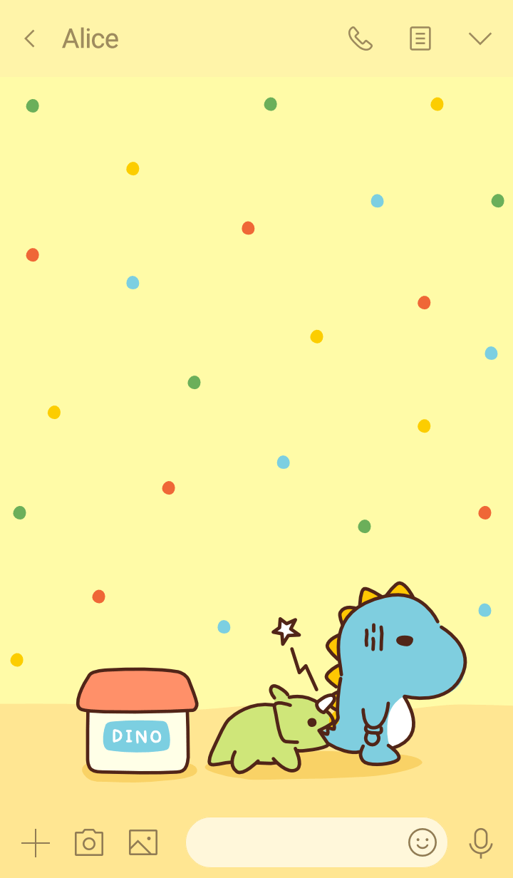 Baby Dino: Candy Dots