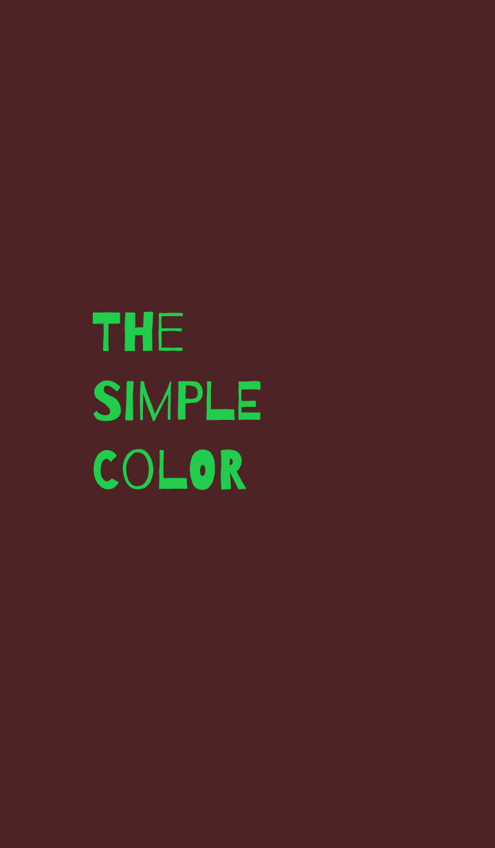 The Simple Color 11
