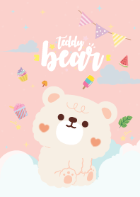 Teddy Bear Baby Pink