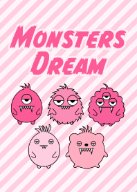 Monsters Dream Pink