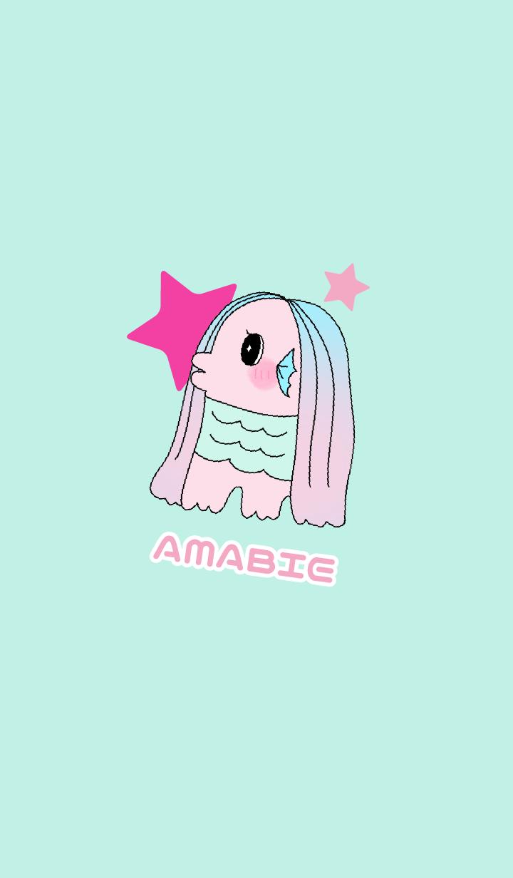 ชุดรูปแบบ AMABIE amabie(ดาว)
