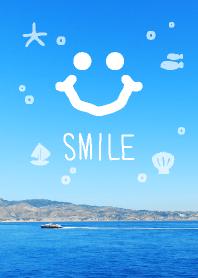 Marine smile in summer joc