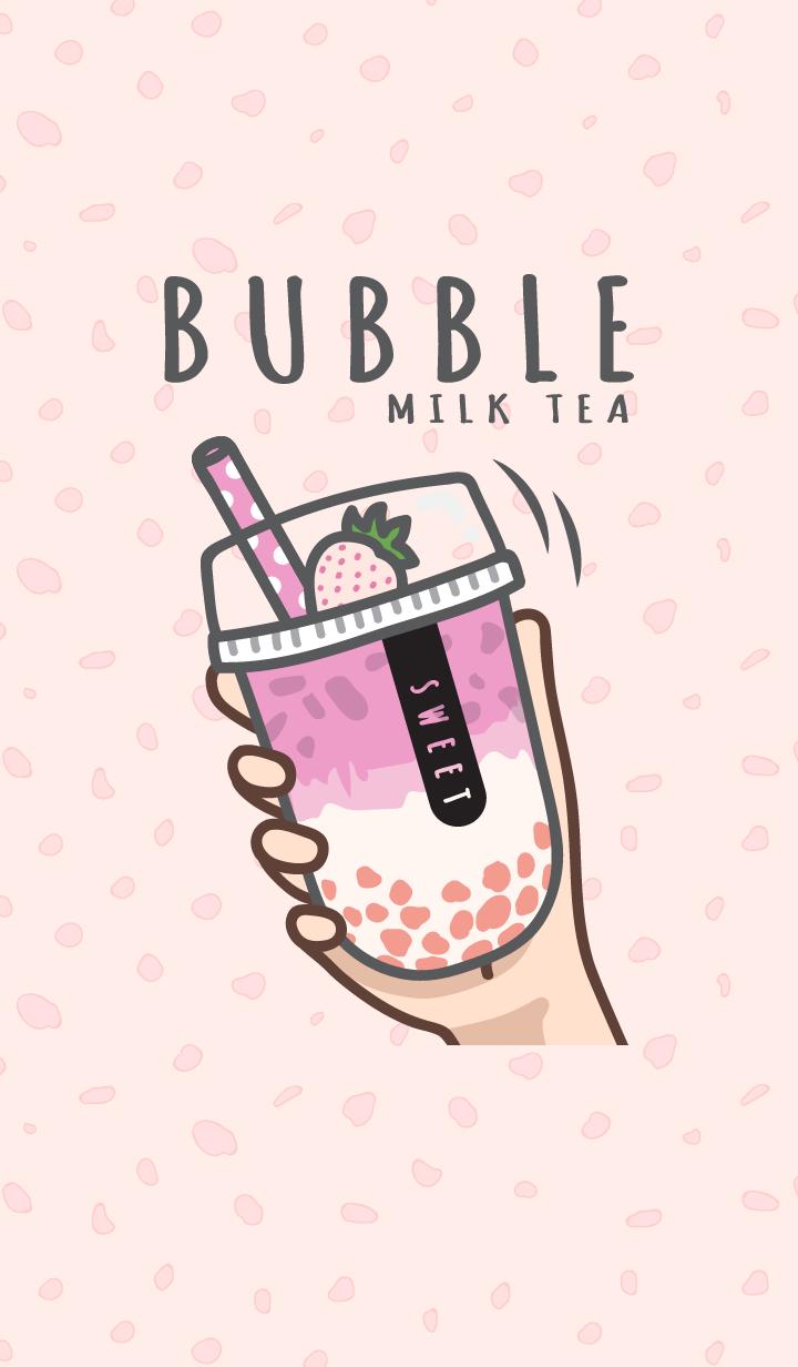 Bubble milk tea cafe 5 (Love) JP