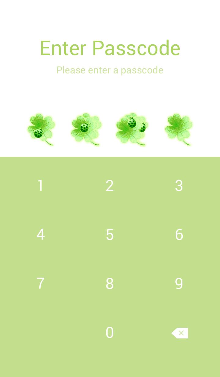 Theme to improve luck:clover&Ladybug(EG)