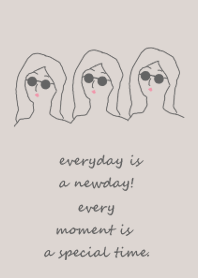 everyday is a newday (#gray)